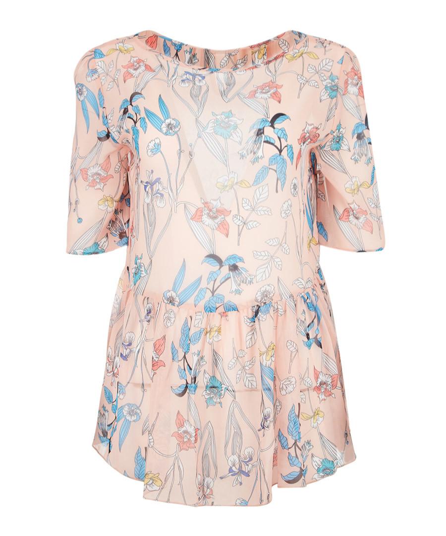 Erica multi-colour cold-shoulder blouse Sale - Giancarlo Bassi