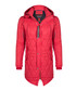 Red quilt hooded coat Sale - giorgio di mare Sale