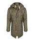 Khaki quilt hooded coat Sale - giorgio di mare Sale