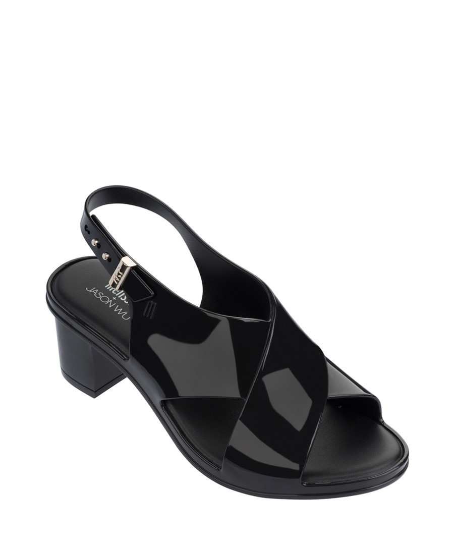 JW Jamie Black cross mules Sale - melissa