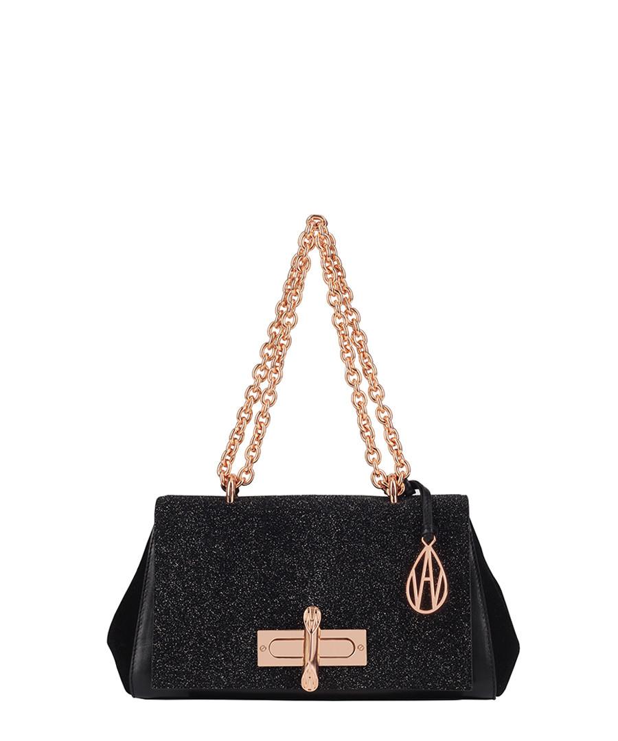 Redmayne black leather shoulder bag Sale - Amanda Wakeley