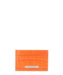Norton marrakech leather moc-croc clutch