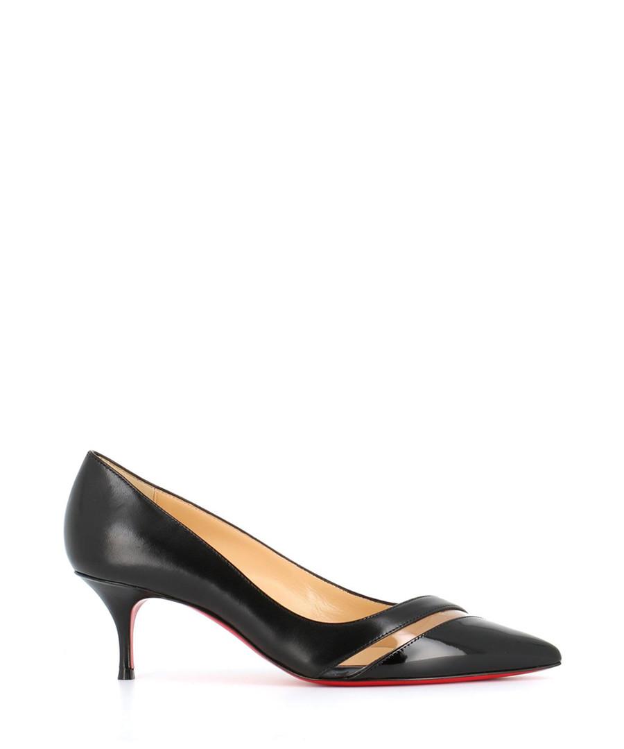 wholesale dealer 06ce5 3b838 Discount 17th Floor black leather kitten heels   SECRETSALES