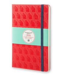 Large monkey plain notebook