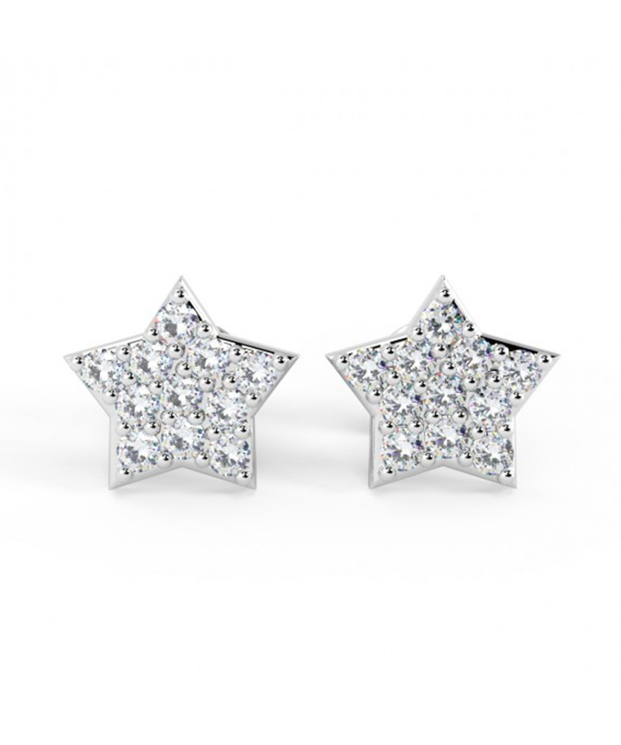 0.25ct diamond & 18k white gold studs Sale - Buy Fine Diamonds