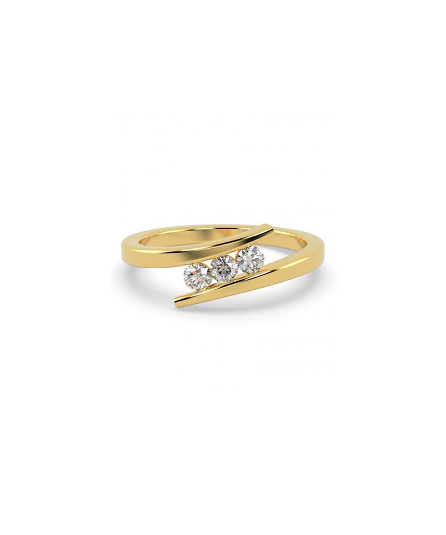 0.25ct diamond trio & 9k gold ring Sale - Buy Fine Diamonds