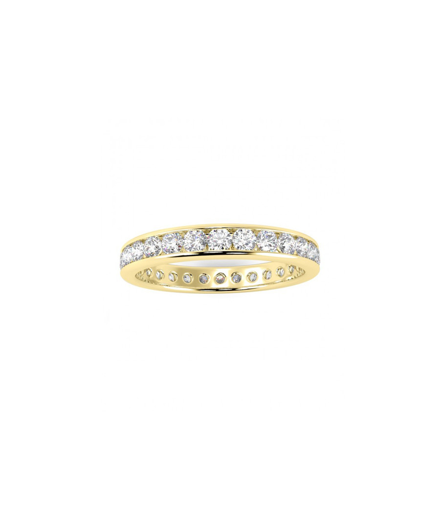 1ct diamond & gold full eternity ring Sale - Buy Fine Diamonds