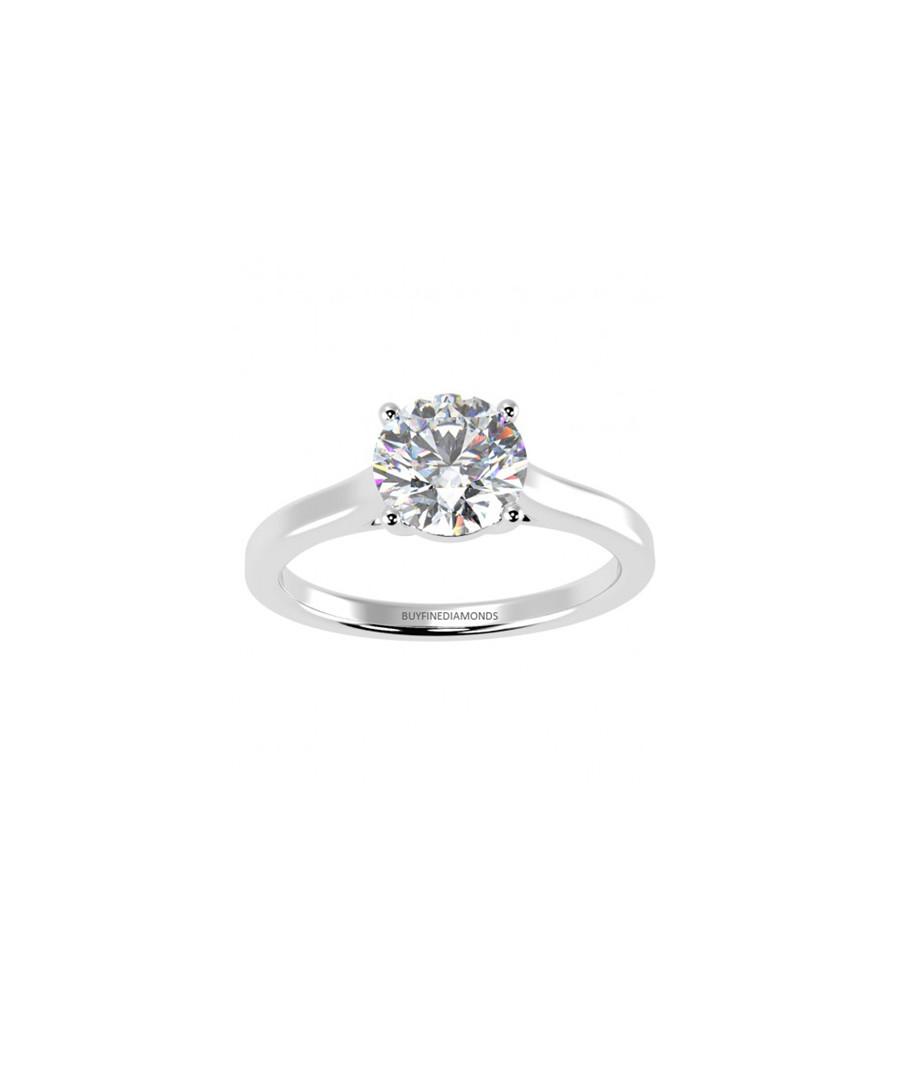 0.5ct diamond & platinum solitaire ring Sale - Buy Fine Diamonds