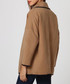 Camel wool blend open coat Sale - Assuili Sale