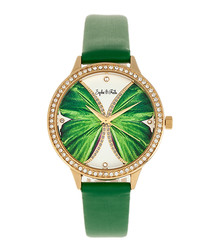 Rio Grande green crystal watch