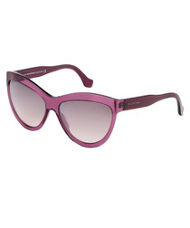 Violet & grey accent sunglasses
