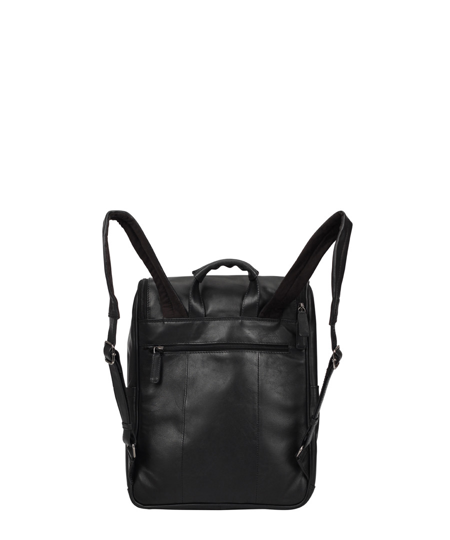 Black leather backpack Sale - Lloyd Baker