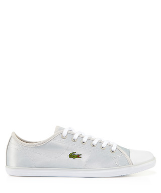 d044e60236eb3 Grey lace-up branded sneakers Sale - Lacoste Sale