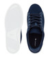 Navy branded heel lace-up sneakers Sale - lacoste Sale