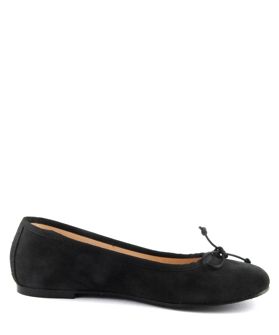Black suede ballet pumps Sale - BROSSHOES