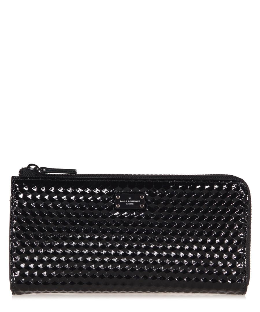 Evie black graphic wallet Sale - Pauls Boutique