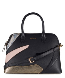 Maisy black, pink & grey grab bag