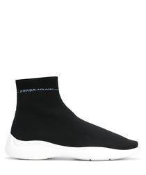 Scuba high-top sock sneakers
