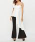 White sleeveless asymmetric blouse Sale - sipaya Sale