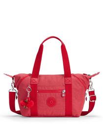 Art Mini red shoulder bag