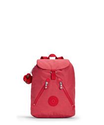 Fundamental red zip backpack