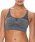 Grey seamless sports bra Sale - controlbody Sale