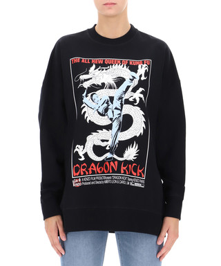 cd73ad4884af Black pure cotton dragon jumper Sale - KENZO Sale