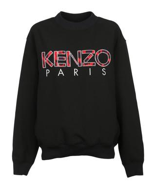 72429759a5 Paris black cotton blend jumper Sale - KENZO Sale