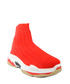 Flame red high-top sock sneakers Sale - BROSSHOES Sale