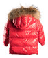 Red down filled fur puffer coat Sale - LOOK LIKE COOL Sale