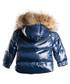 Navy down filled fur puffer coat Sale - LOOK LIKE COOL Sale