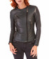 Racing green leather biker jacket Sale - ad milano Sale
