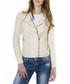 Beige leather biker jacket Sale - ad milano Sale