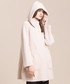 Pale pink high-neck coat Sale - Keshi Mier Sale