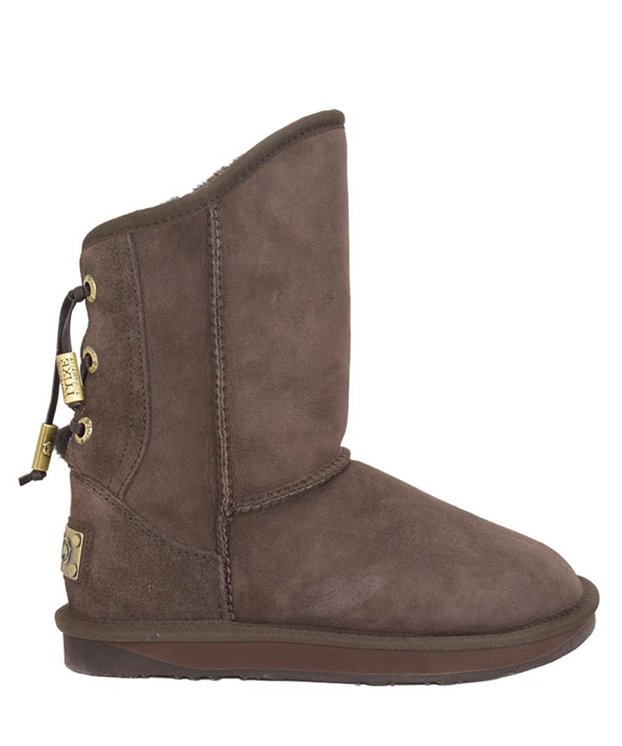 Dita beva shearling boots Sale - Australia luxe