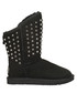Pistol black shearling studded boots Sale - Australia luxe Sale