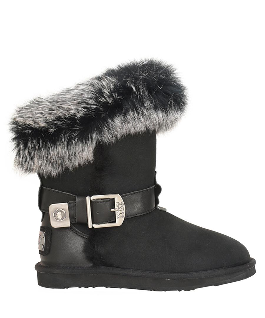 Tsar black shearling boots Sale - Australia luxe