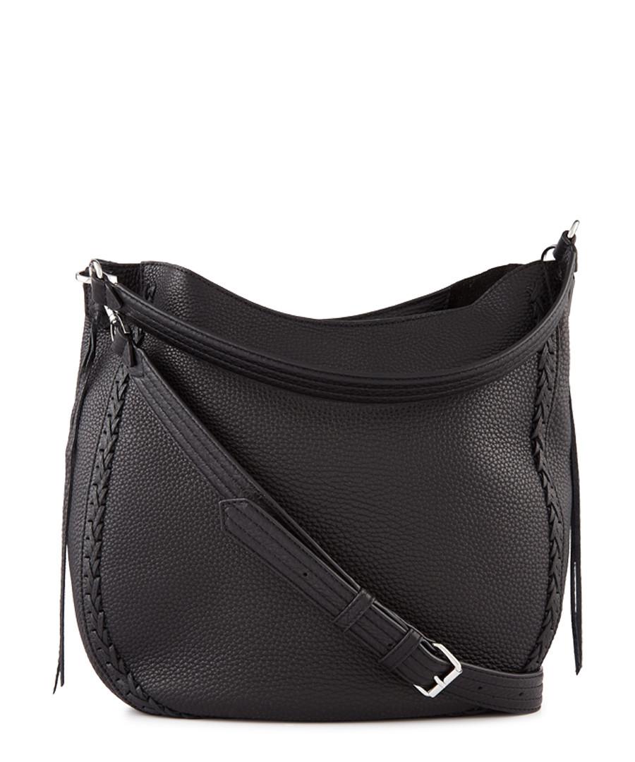 Black leather hobo crossbody Sale - Rebecca Minkoff