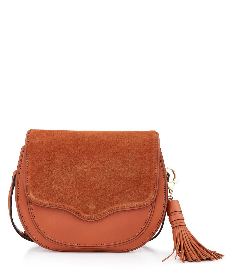 Large Suki almond leather crossbody Sale - Rebecca Minkoff
