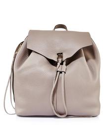 Darren mushroom leather backpack