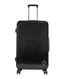 RIO black large suitcase 75cm