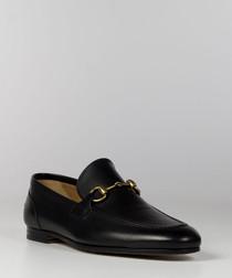Men's Jordaan black leather loafers
