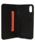 Black iPhone X leather phone case Sale - knomo Sale