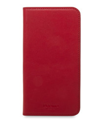 Chilli iPhone X leather phone case