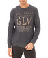 Grey slogan jumper Sale - galvanni Sale