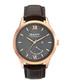 Rose gold-tone steel numeral watch Sale - gant Sale