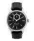 Steel & black leather numberless watch Sale - Gant Sale