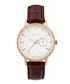 Gold-tone steel & walnut leather watch Sale - gant Sale