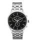 Steel & black chrono link watch Sale - Gant Sale