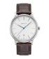 Steel & brown leather moc-croc watch Sale - gant Sale